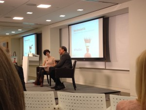 Daniel Pauly talking to Juliet Eilperin in Washington, D.C.